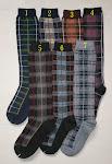 Tartan-style Knee-Socks