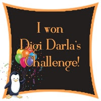 I won at Digi Dala's challenge!