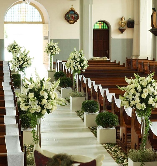 1000 images about decoraci n iglesia church wedding