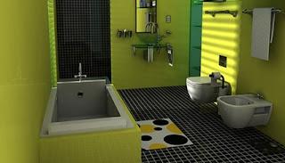 contoh gambar kamar mandi kecil minimalis modern