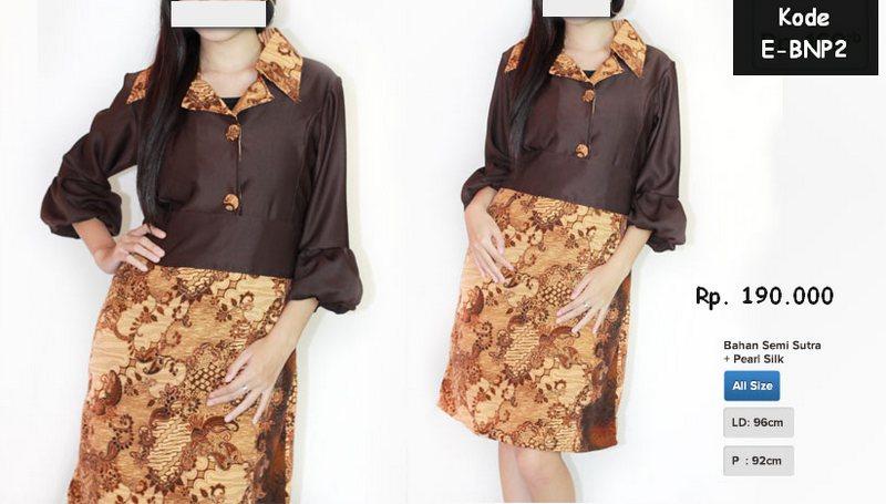 Baju Batik  Model Baju Batik Terbaru  Pusat Baju Batik Modern