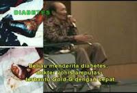 Cara Ampuh Menyembuhkan Luka Diabetes