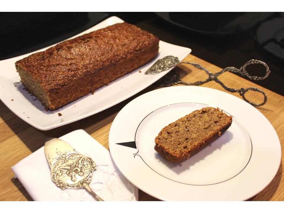 Coentros & Rabanetes: Crackly banana bread