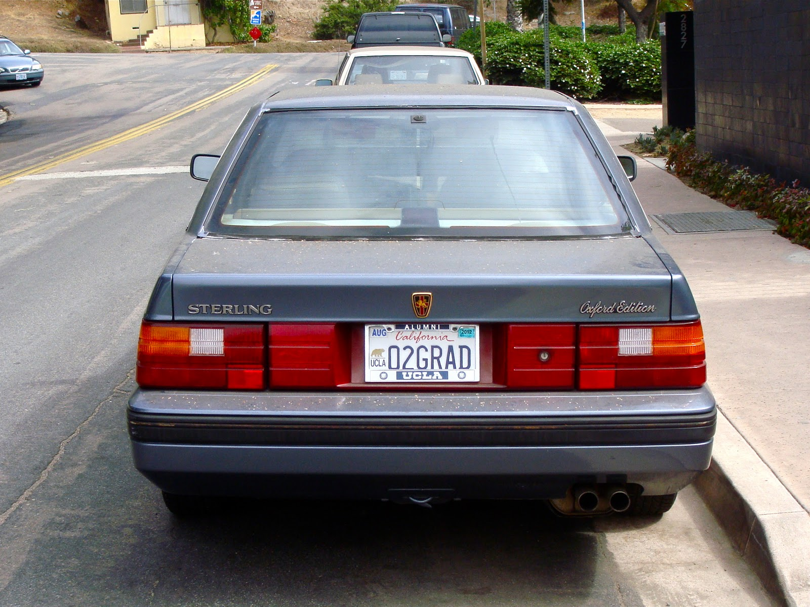 The Street Peep 1990 Sterling 827sl Oxford Edition