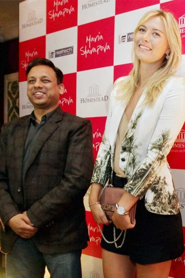 Maria Sarapova Business tour in Mumbai