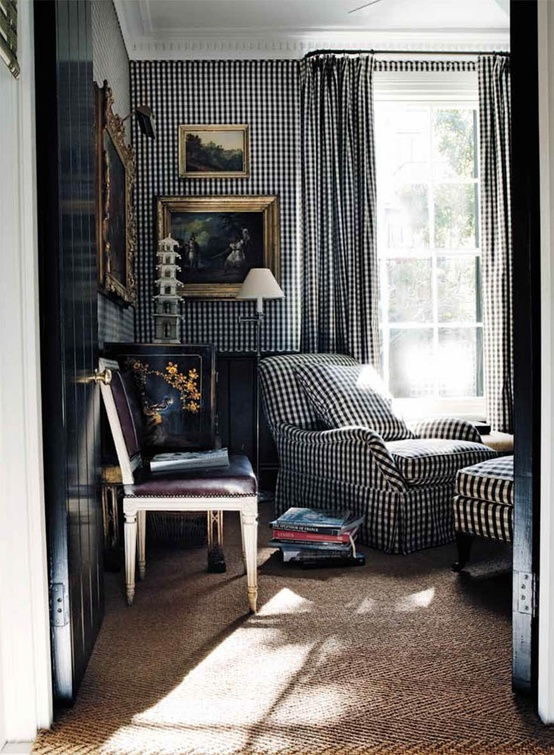 Wallpaper Autumn Readers Requests Series Black And Chinoiserie