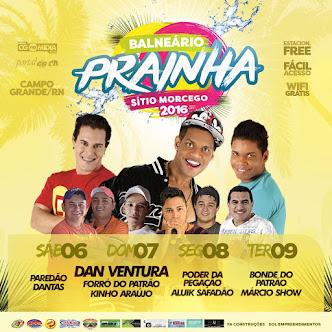 Confiram a programação do Carnaval 2016 no Balneário Prainha Morcego em Campo Grande