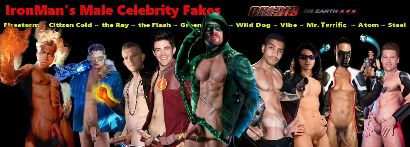 IronMan's Male Celebrity Fakes