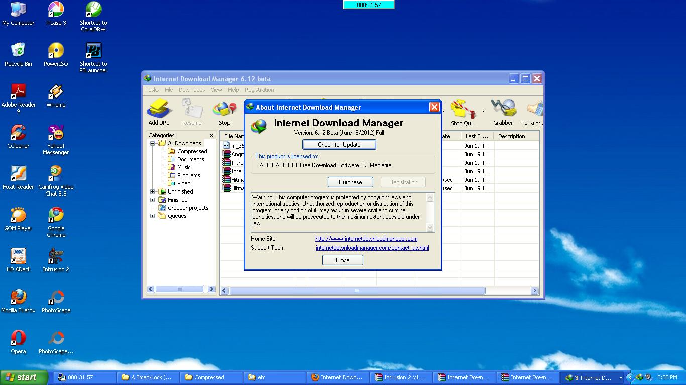 free serial number idm 6 2 http://www.aspirasisoft.us/2012/06/internet-download-manager-612-full.html