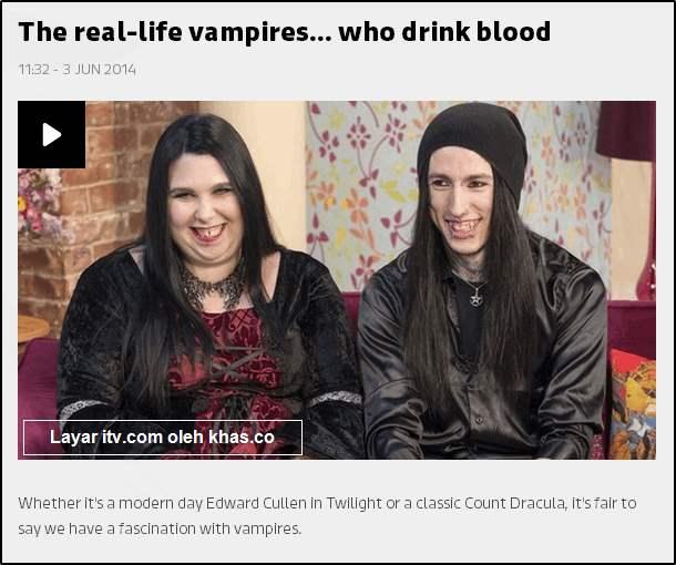 asli vampir suami istri drakula isap darah