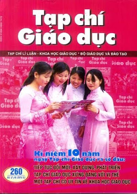 tap chi giao duc so 260 thang 4 2011, 10 nam thanh lap