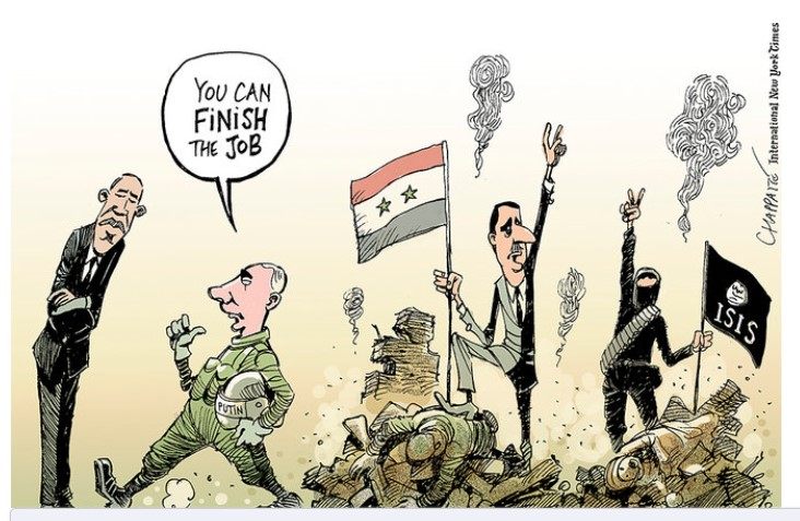 syria...