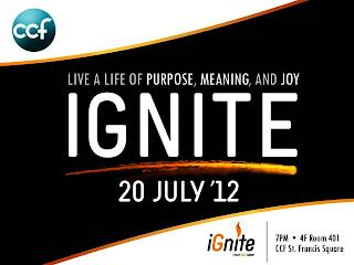 CCF iGnite | Live a Life of Purpose, Meaning, and Joy