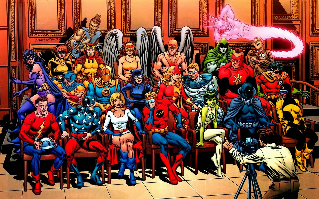 the perception of society on movie superheroes