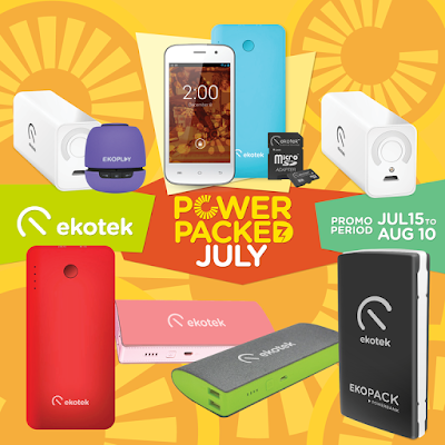 Ekotek Power Packed July