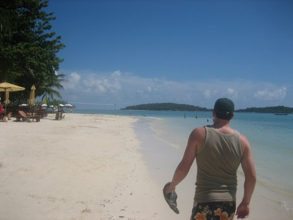 gold coast mum blog, husband, channing tatum, beach, thailand