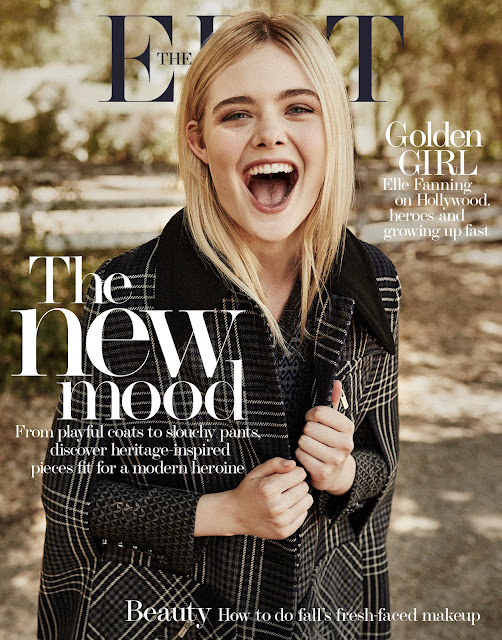 Actress @ Elle Fanning by Billy Kidd for The Edit Magazine, September  2015