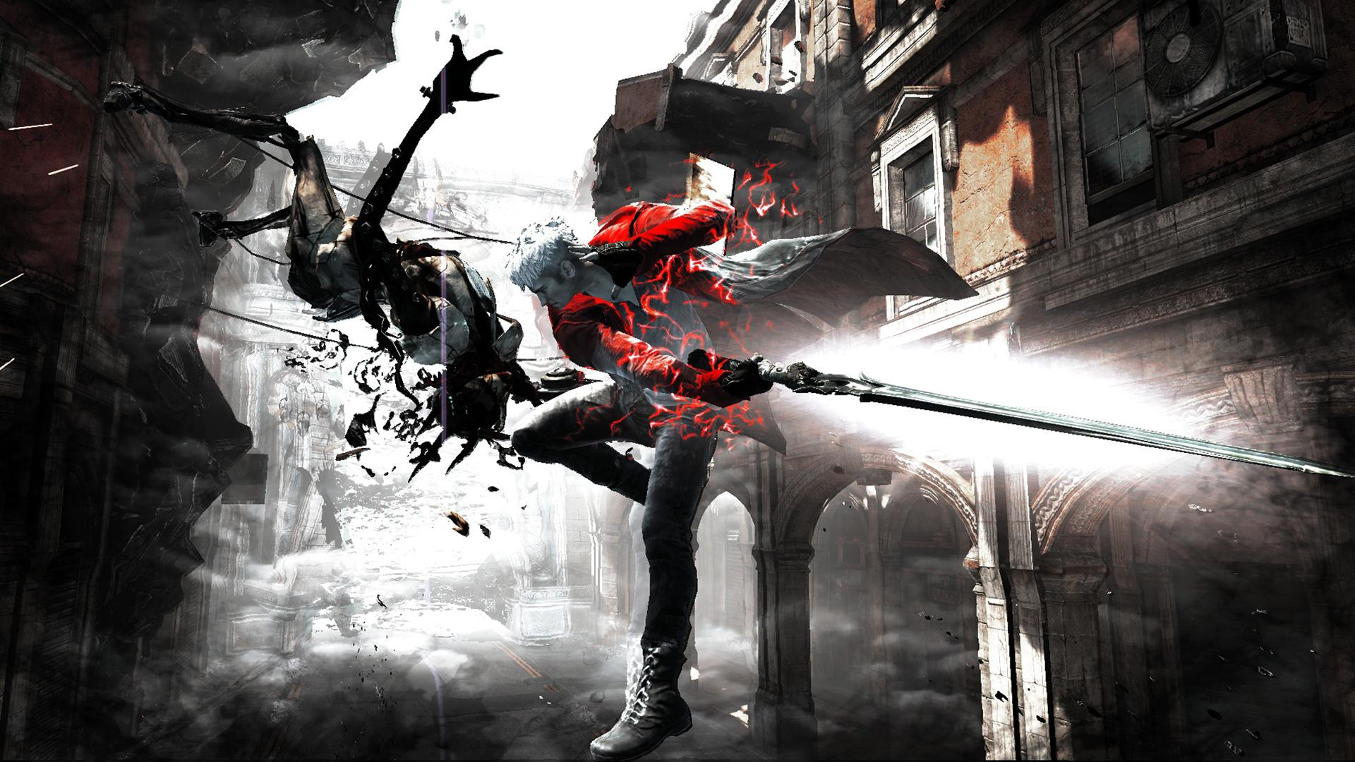 Devil may cry game full hd desktop wallpapers 1080p - Devil may cry hd pics ...