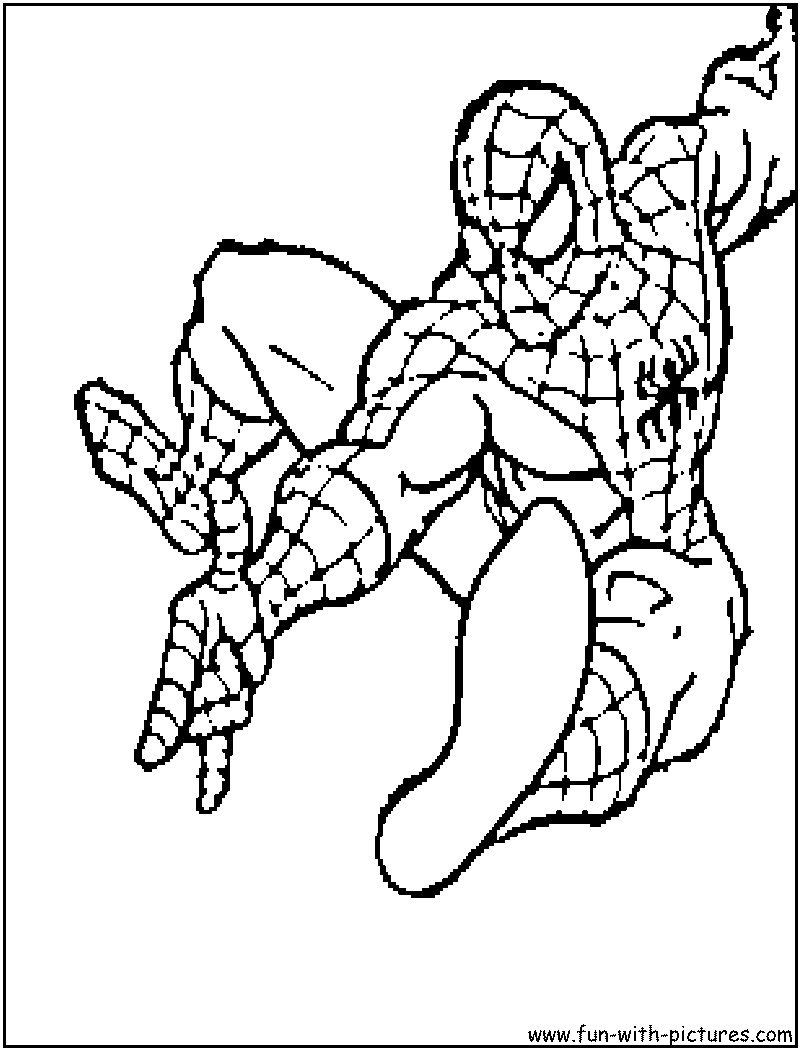 Spider man coloring pages monster trucks coloring pages for Disegni da colorare spiderman 3