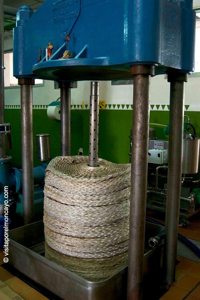 molino de aceituna aceituna oliva aceite oliambel almazara acteite sierra del Moncayo