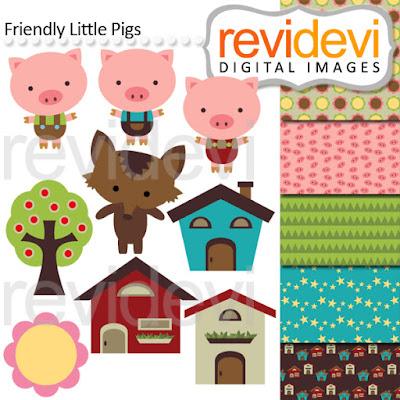 https://www.teacherspayteachers.com/Product/Clip-art-Three-little-pig-and-big-bad-wolf-inspired-1399857
