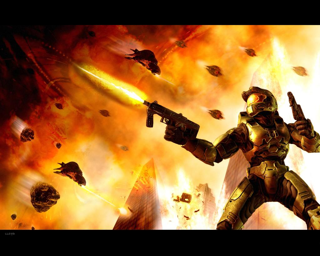Halo HD & Widescreen Wallpaper 0.614943521087587