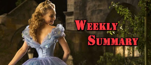 weekly-summary-cinderella-lily-james