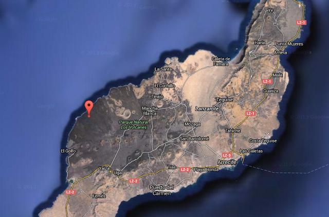 Terremoto  Parque Natural de Timanfaya, Yaiza, Lanzarote