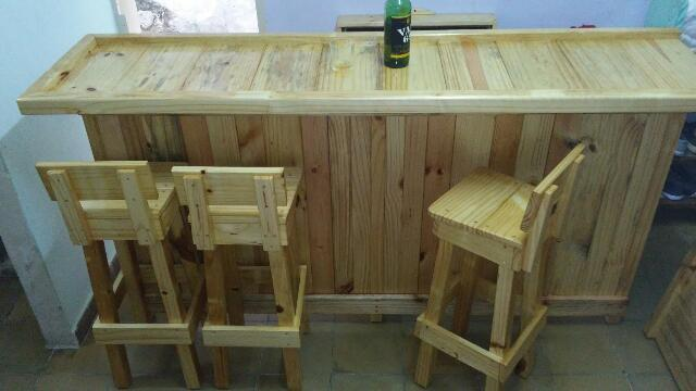 Carpinteria artesanal el madero barra para bar y restaurantes 53 53540276 - Barra de madera para bar ...