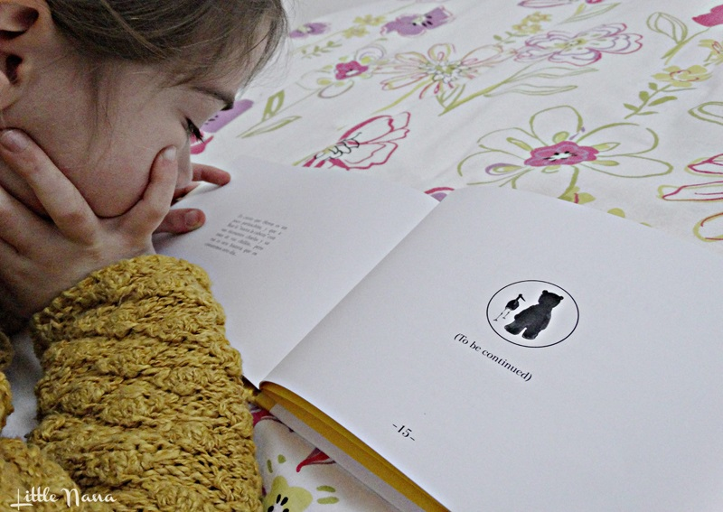 Hoy leemos Heron and Bear cuento infantil