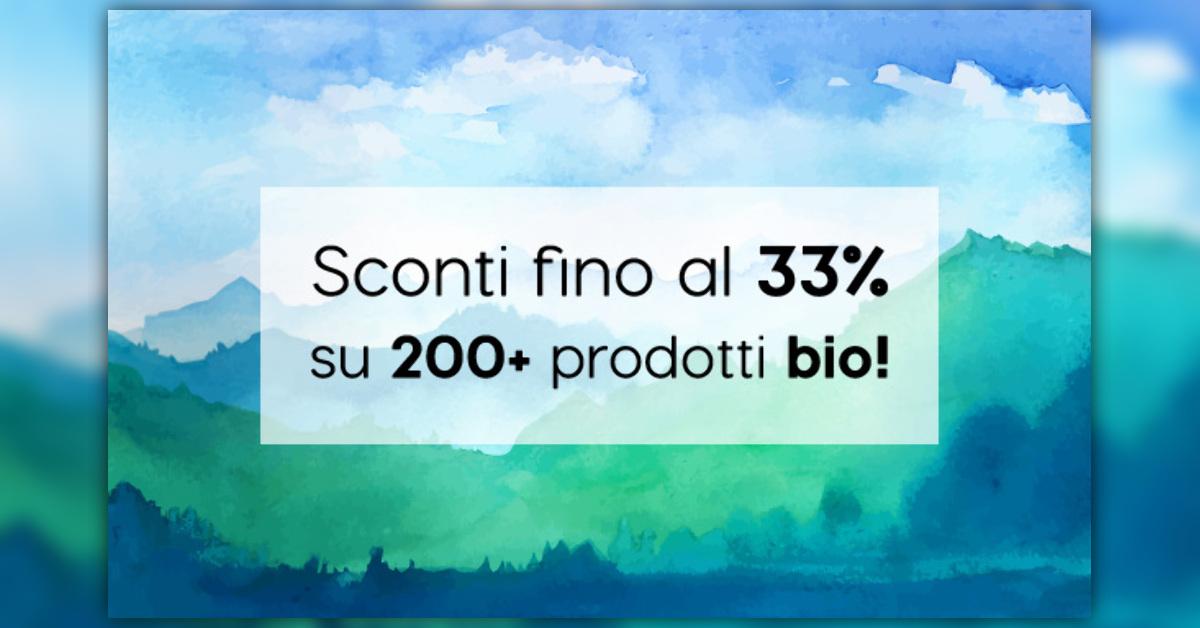 MACROLIBRARSI: Promozioni Bio-Shop -Agosto Sconti fino al 33% su più di 200 prodotti bio!