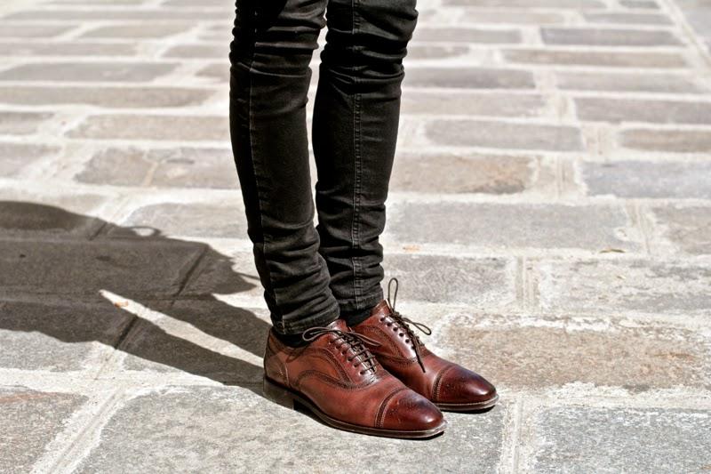 Chaussures classiques Zalando richelieu en cuir BLOG MODE HOMME mensfashion brogues