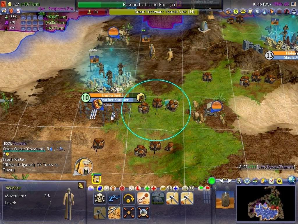 Dune Wars mod Civilization IV