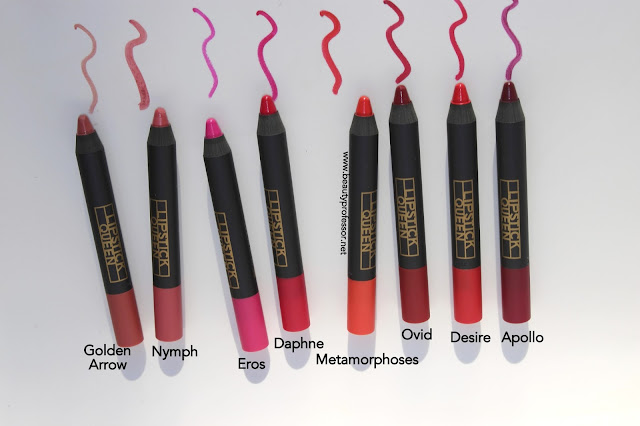 lipstick queen cupid's bow swatches