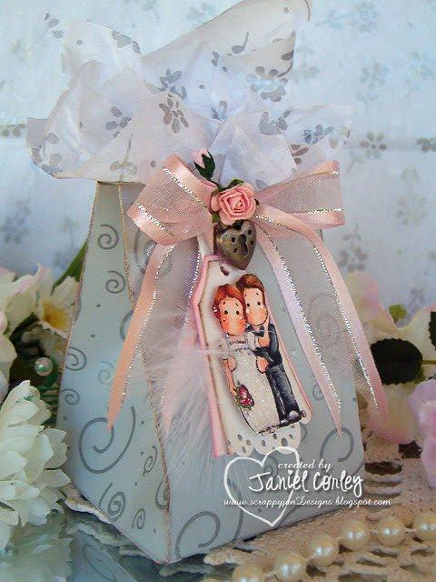 my little pieces of art: Wedding Favor Box Tutorial