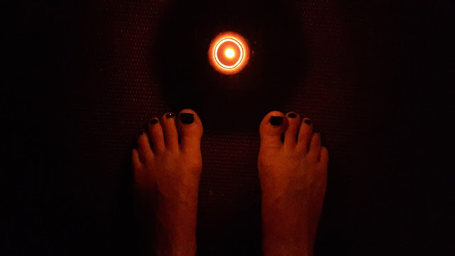 Project 365 2015 day 245 - Yoga by candlelight // 76sunflowers