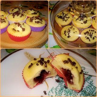 jam cupcakes a.k.a. muffin con marmellata
