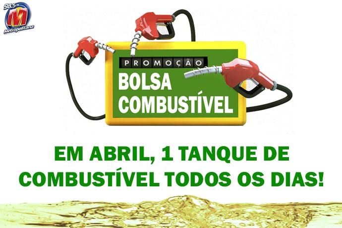Participar da promoção Bolsa Combustível Metropolitana