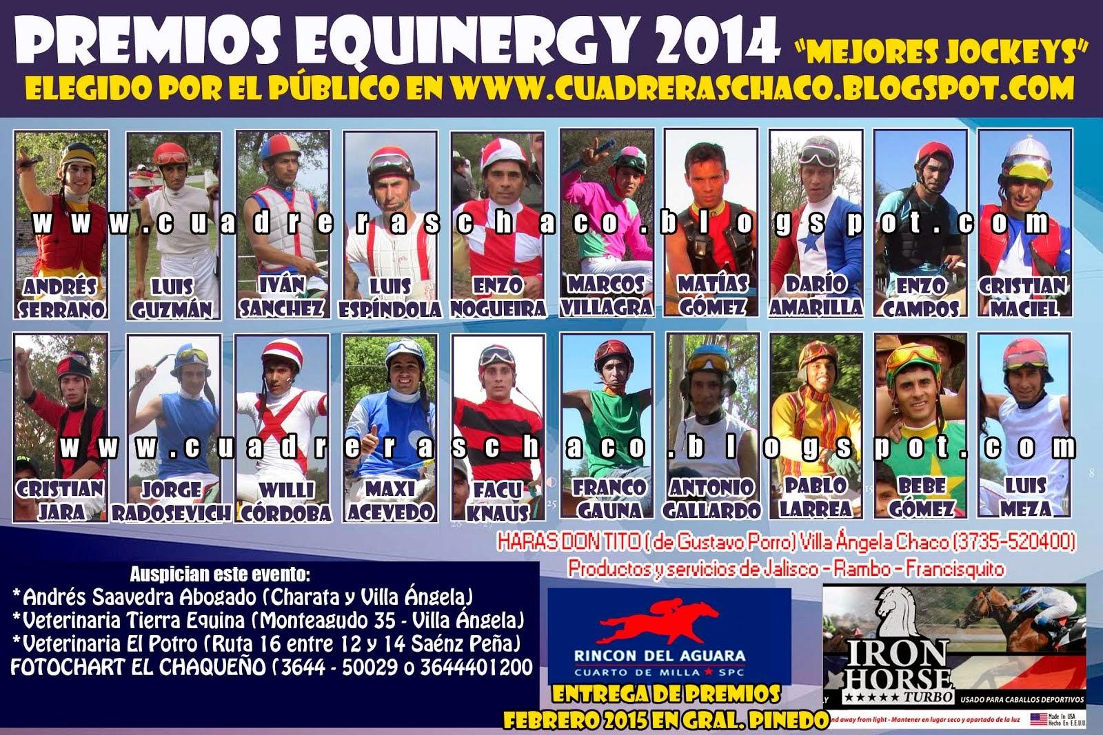 mejores jockeys 6-1