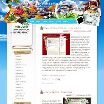One Fun Kicks off in Taiwan blogger template from wordpress. travel blog template. template blog from wordpress. travel blog template. template travel for blogger. travel template for blog