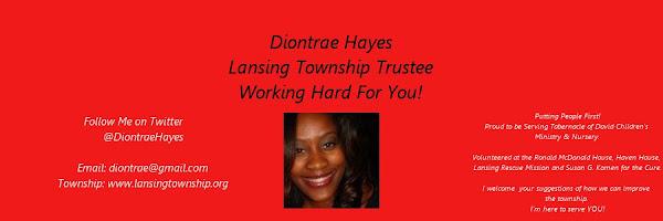 Diontrae Hayes Lansing Township Trustee