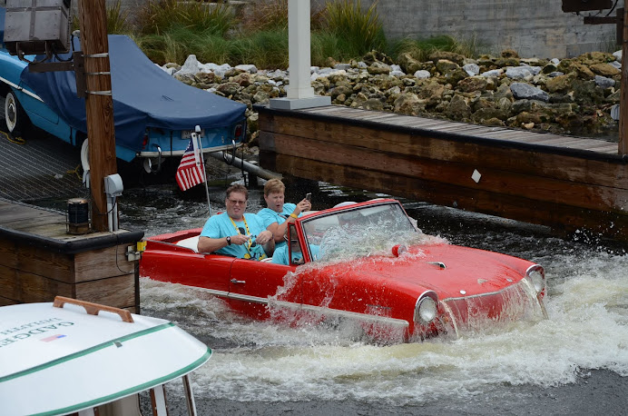 Our Amphicar Tour