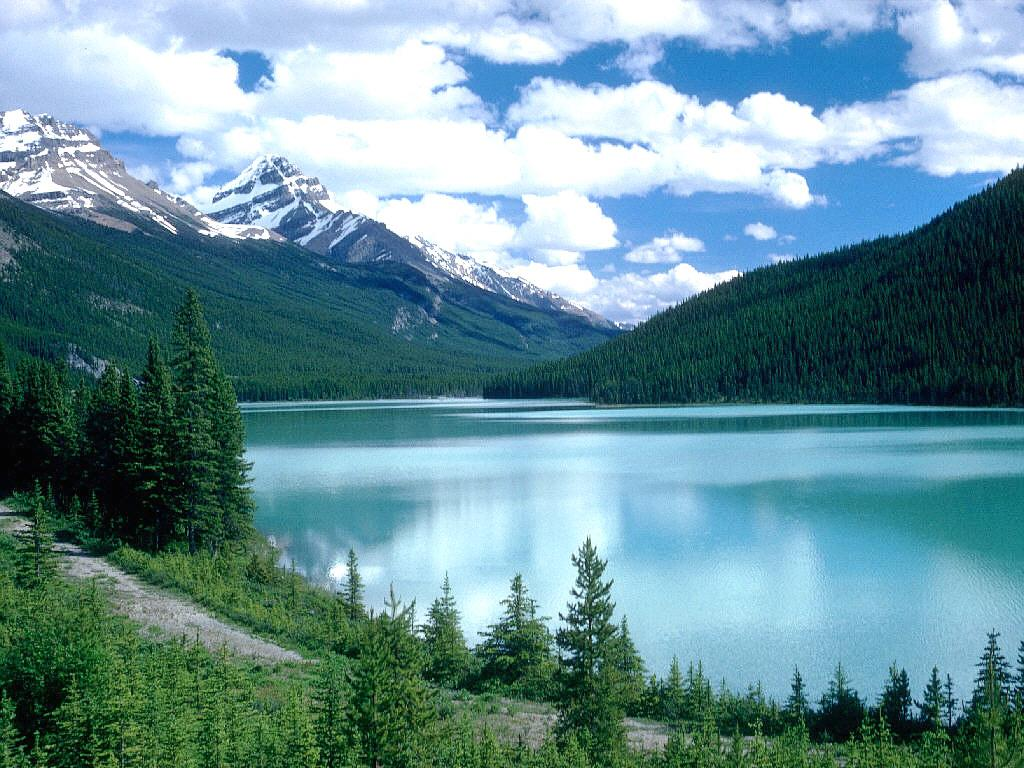 Wallpapers And Pictures Lake In Canada Nature Wallpaper