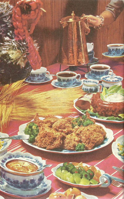 Bad and ugly of retro food the bestest buffets in one book for Thanksgiving dinner with all the trimmings