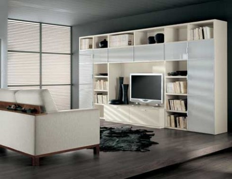 Lcd tv cabinet designs an interior design for Home living room cupboard design