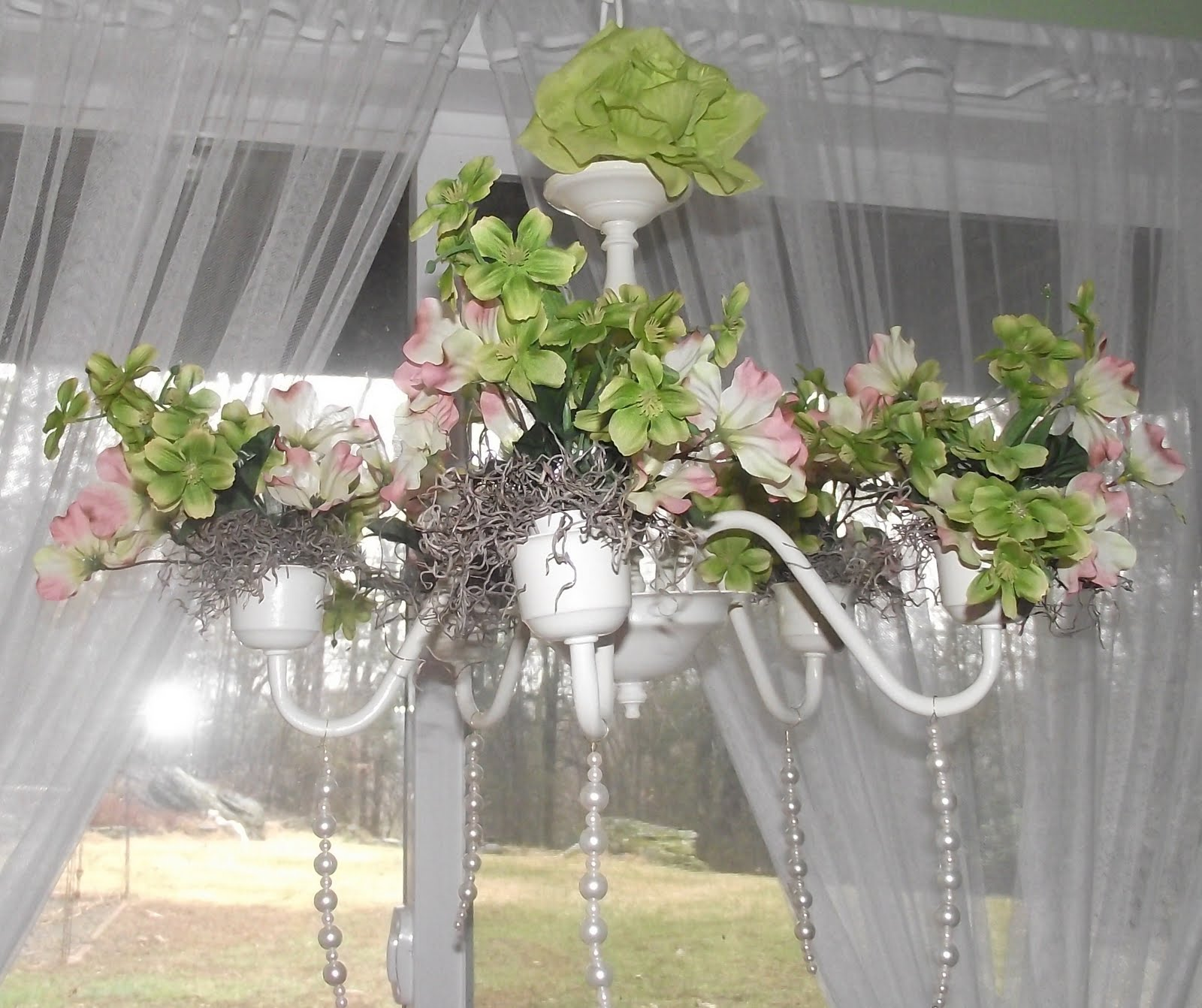 Serendipity Chic Design e of a kind shabby chic chandelier