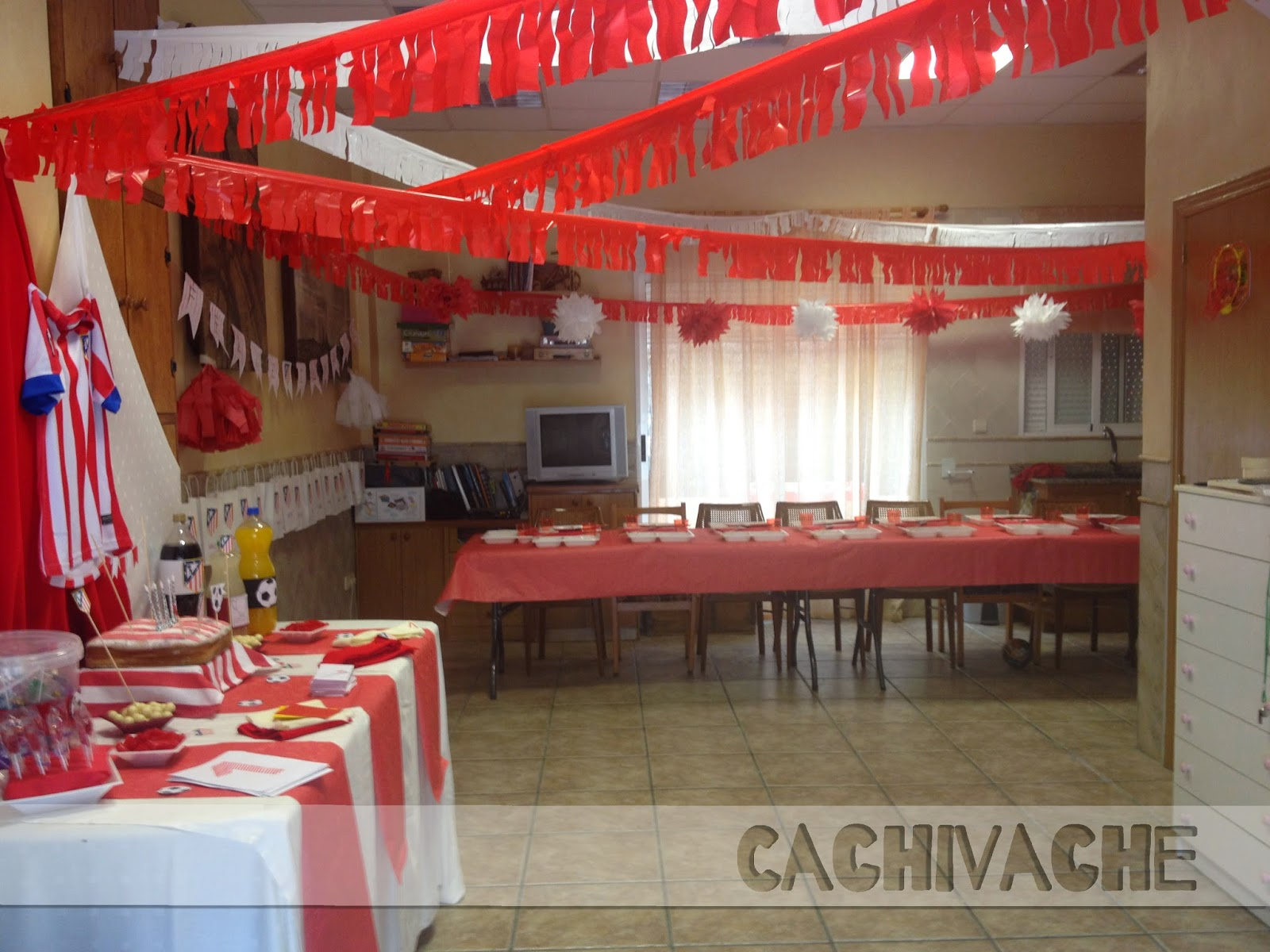 Fiesta de cumplea os atletico de madrid - Decoracion madrid ...