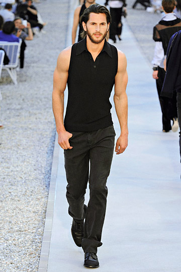 mike kagee fashion chanel resort mens collection by