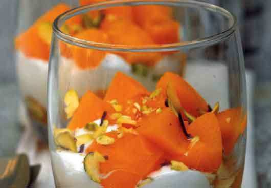 Easy food recipes and cooking quark and peach mousse quark and peach mousse forumfinder Choice Image