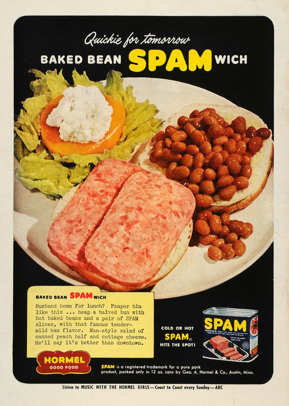 The Baked Bean Spammich